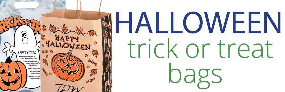Halloween promotional bags